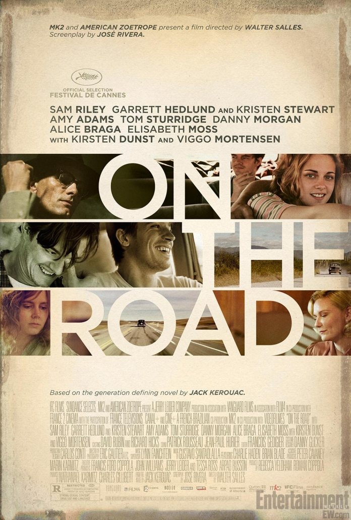 On the Road US Poster