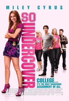 First Trailer & Posters for So Undercover with Miley Cyrus & Jeremy Piven