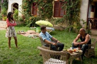 Jordana Brewster, Paul Walker and Vin Diesel in Fast and Furious 6