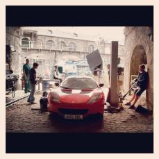 Lotus on set of Fast and Furious 6
