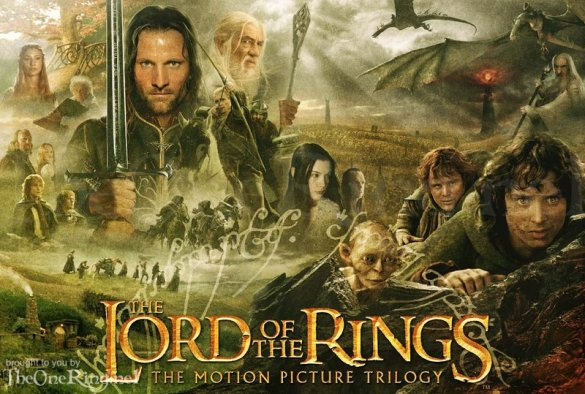 The Lrod of the Rings 585x394 Top Ten: Fantasy Movies to Watch Before The Hobbit