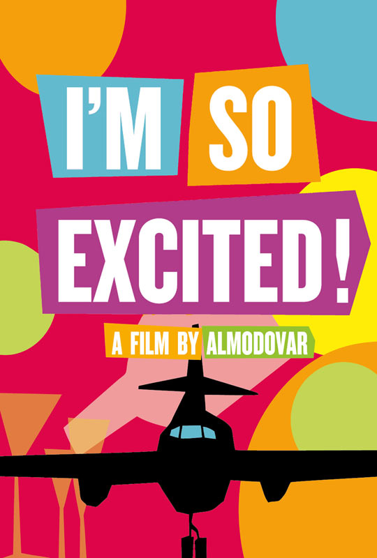 Im So Excited Trailer and Poster for Almodóvars Im So Excited