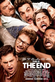 This Is The End Poster 438x650 First Red Band Clip & Poster for This Is The End with Seth Rogen, Jay Baruchel & James Franco