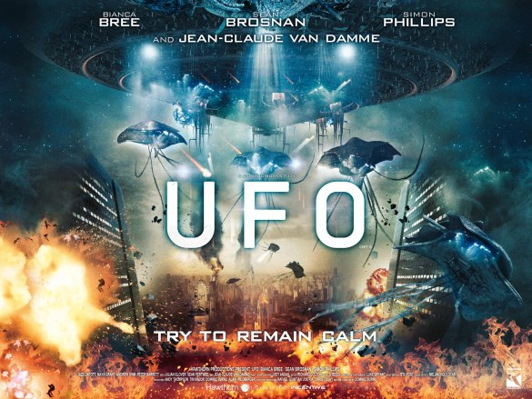 UFO Poster 585x439 New Poster for UFO – 'Try to Remain Calm'
