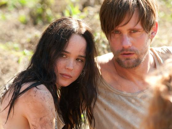 Ellen Page and Alexander Skarsgård in The East New Image of Ellen Page & Alexander Skarsgård in The East