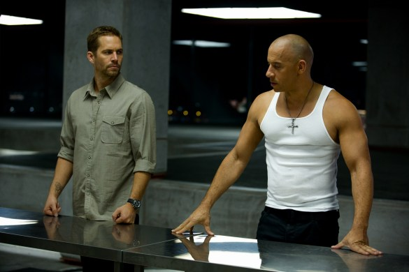 Paul Walker and Vin Diesel in Fast and Furious 6 585x390 New Image of Paul Walker & Vin Diesel in Fast and Furious 6