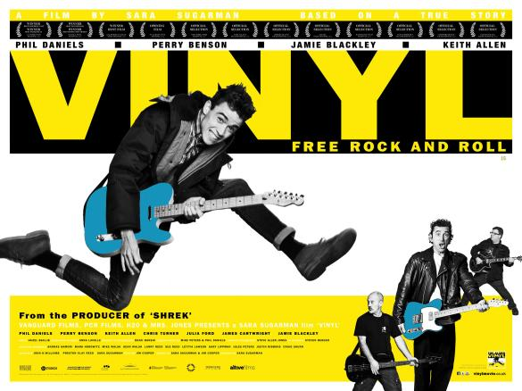 Vinyl poster 585x438 Exclusive: New Poster for Vinyl starring Phil Daniels, Keith Allen & Jamie Blackley