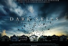 Dark Skies UK Quad Poster 220x150 UK Quad Poster for Scott Stewart's Dark Skies with Keri Russell – 'They're Coming'