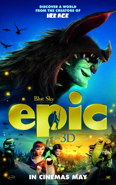 3 New Character Posters for Blue Sky Studios Epic