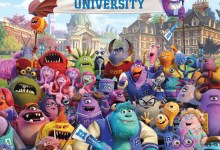 Monsters University UK Poster 220x150 New UK Poster for Monsters University shows all the Gang