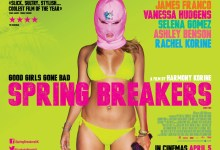 Spring Breakers UK Quad Poster 220x150 New UK Quad Poster for Spring Breakers with Vanessa Hudgens, Selena Gomez & James Franco