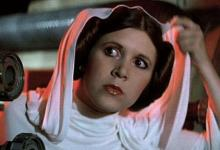 Carrie Fisher in Star Wars 220x150 Carrie Fisher self confirms her return as Princess Leia in Star Wars Episode VII
