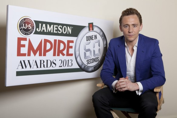 Empire Done in 60 seconds 2013 585x390 Tom Hiddleston Talks About the Entrants for the Jameson Empire Done in 60 Seconds Competition