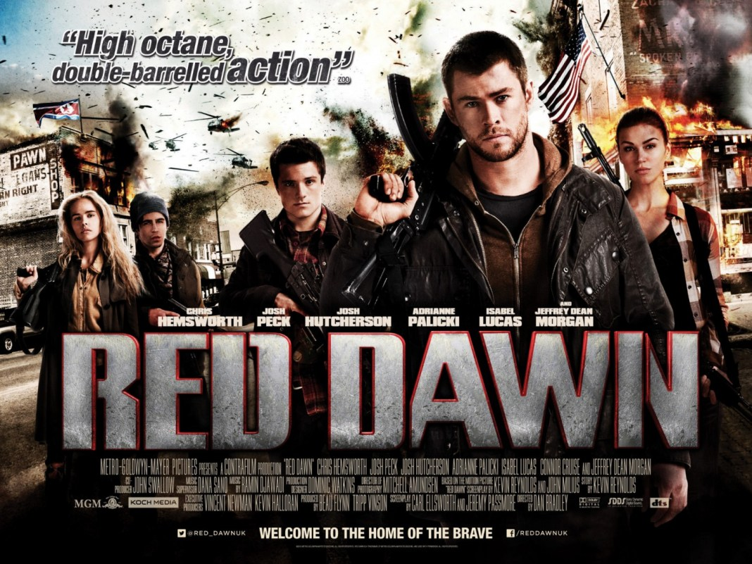 Red-Dawn-UK-Quad-Poster