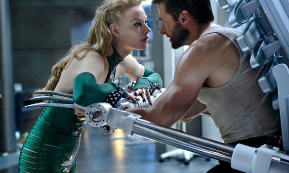 Svetlana Khodchenkova and Hugh Jackman in The Wolverine 585x350 The HeyUGuys Instant Watching Guide   November 18th 2013