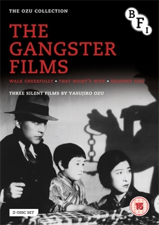 ozu gangster films dvd The Ozu Collection: The Gangster Films DVD Review