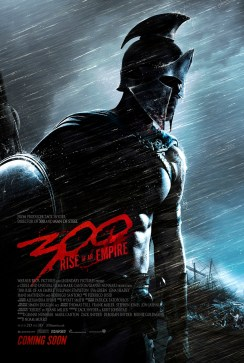 300 Rise of an Empire Poster 438x650 Bloody First Teaser Trailer for 300: Rise of an Empire