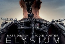 Elysium Poster e1365492966553 220x150 Outstanding New Trailer for Neill Blomkamp's Elysium with Matt Damon & Jodie Foster