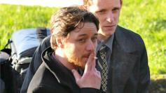 James-McAvoy-and-Jamie-Bell-on-set-of-Filth