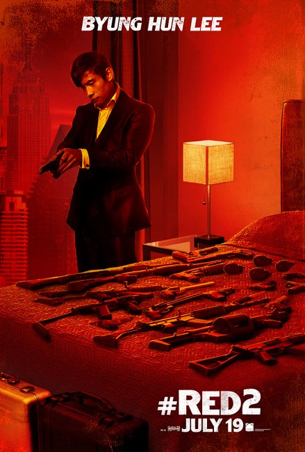 New Character Posters for Anthony Hopkins & Lee Byung hun in RED 2