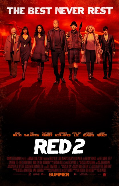 RED 2 Poster 416x650 The Gang is Back in Business in New Poster for RED 2