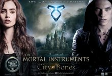 The Mortal Instruments City of Bones UK Quad Poster 220x150 New Trailer for The Mortal Instruments: City of Bones