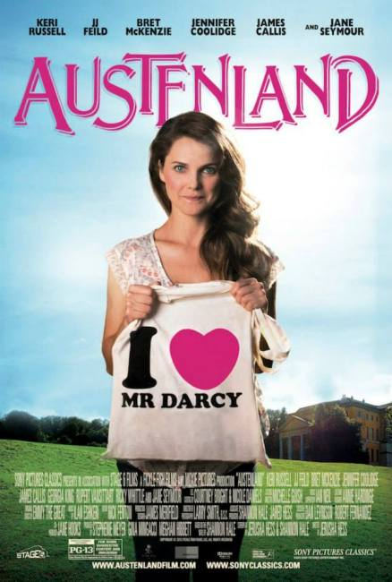 Austenland Poster 438x650 New Poster for Austenland with Keri Russell
