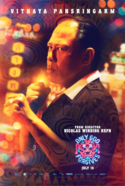 Only God Forgives Character Poster Vithaya Pansringarm 437x650 New Character Poster for Vithaya Pansringarm in Nicolas Winding Refn's Only God Forgives