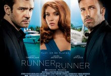 Runner Runner Quad Poster 220x150 Ben Affleck and Justin Timberlake Face Off in New Clip from Runner Runner