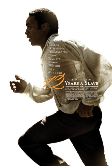 12 Years a Slave Poster 438x650 First Trailer and Poster for Steve McQueen's 12 Years a Slave with Chiwetel Ejiofor