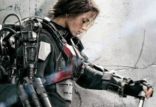 Edge of Tomorrow Comic Con Poster Emily Blunt e1374349868859 220x150 Comic Con: Emily Blunt is a Future Warrior in New Poster for Edge of Tomorrow with Tom Cruise