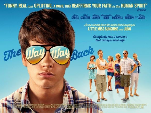The Way Way Back Quad Poster 585x438 The HeyUGuys Instant Watching Guide   January 6th 2014