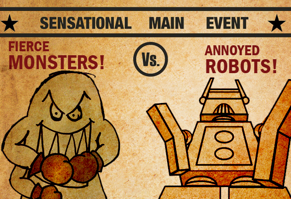 monsters vs robots Monsters Vs Robots   The Pacific Rim Invitational Movie Battle Royale