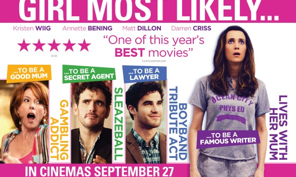 Girl Most Likely UK Quad Poster 585x350 Girl Most Likely Review