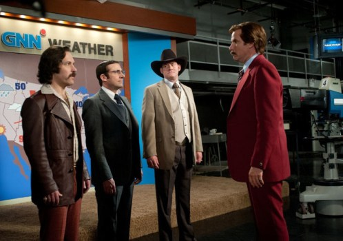 New Images of Ron Burgundy and Co. in Anchorman 2: The Legend Continues