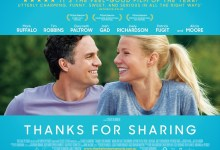 Thanks for Sharing Poster 220x150 Thanks for Sharing with Mark Ruffalo & Josh Gad Pushed to 4th October UK Release Date