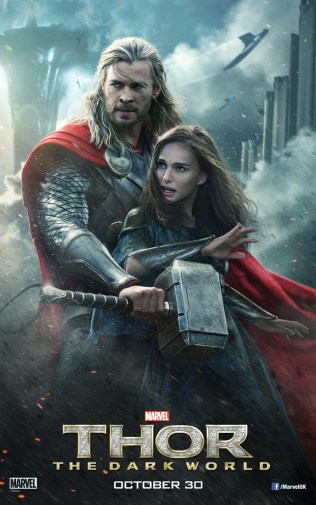Thor:-The-Dark-World-Poster-Thor-and-Jane-Foster
