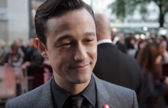 Joseph Gordon Levitt Don Jon UK Premiere 585x376 Interview: Joseph Gordon Levitt Dimisses Ant Man & talks of Christopher Nolans Help with Don Jon