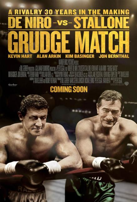 Grudge Match Movie Poster 439x650 New Poster for Stallone / De Niro Movie Grudge Match Tests Photoshop to the Limit