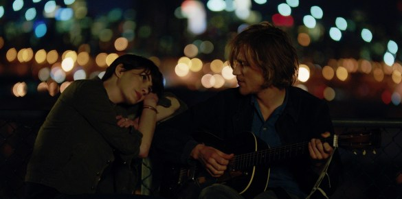 Anne Hathaway and Johnny Flynn in Song One 585x290 Sundance 2014 – First Look Image: Anne Hathaway in Song One