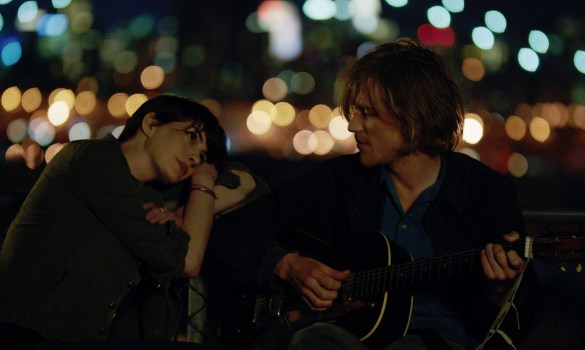 Anne Hathaway and Johnny Flynn in Song One 585x350 Sundance 2014 – First Look Image: Anne Hathaway in Song One