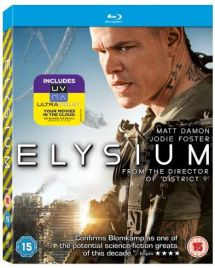 Elysium Win Elysium and District 9 on Blu ray + The Art of Elysium