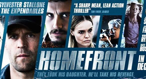 Homefront Banner 585x315 Exclusive: Red Band New Clip from Homefront with Jason Statham – 'Stand by the Car'