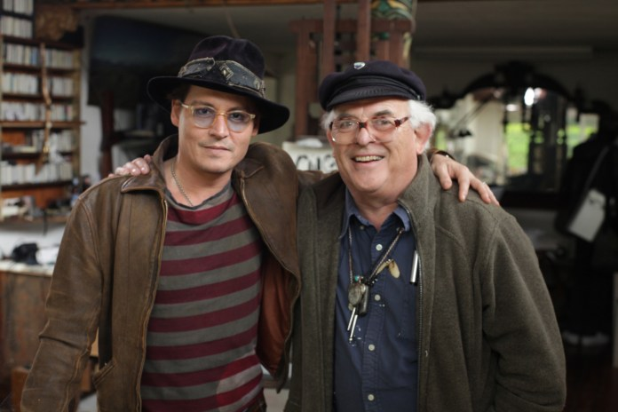 Johnny-Depp-and-Ralph-Steadman-in-For-No-Good-Reason