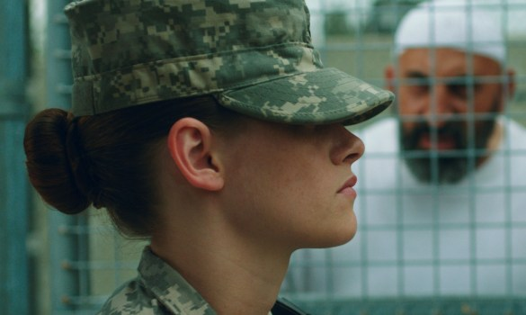 Kristen Stewart in Camp X Ray 585x350 Sundance 2014 – First Look Image: Kristen Stewart in Camp X Ray
