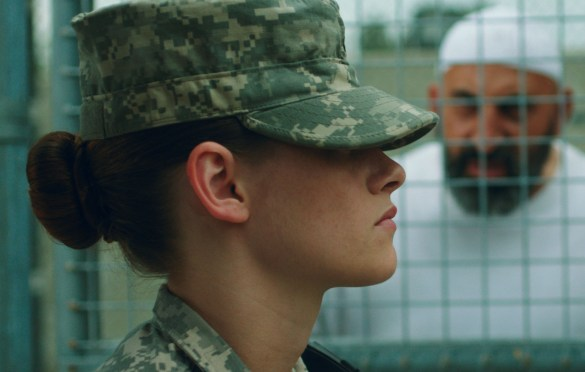 Kristen Stewart in Camp X Ray 585x372 Sundance 2014 – First Look Image: Kristen Stewart in Camp X Ray