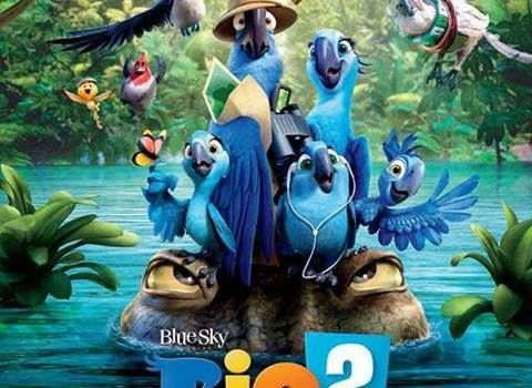 Rio 2 International Poster 480x350 Arriving in the Amazon – New International Poster for Rio 2
