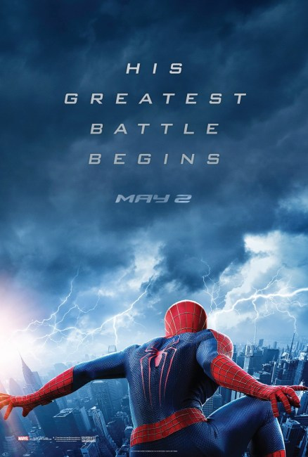 The Amazing Spider Man 2 Poster 438x650 New Poster Teases an Epic Battle in The Amazing Spider Man 2