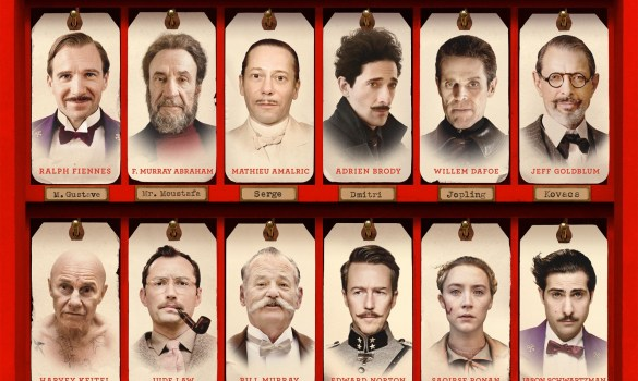 The Grand Budapest Hotel Poster slice 585x350 New Trailer and Poster for Wes Anderson's The Grand Budapest Hotel