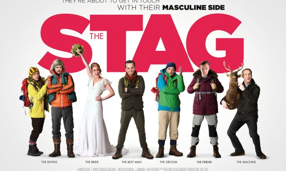 The Stag Quad Poster 585x350 Exclusive Poster & Release Date and New Trailer for John Butler's The Stag with Andrew Scott
